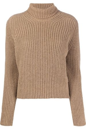 Ami Turtle neck ribbed jumper