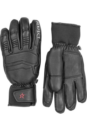Perfect Moment Leather ski gloves