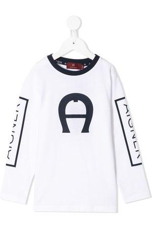Aigner Logo-print long-sleeve T-shirt