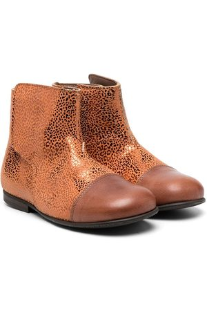 PèPè Girls Ankle Boots - Metallic-effect ankle boots
