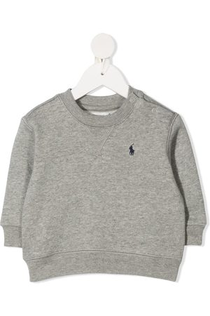 Ralph Lauren Logo embroidered crew neck sweatshirt