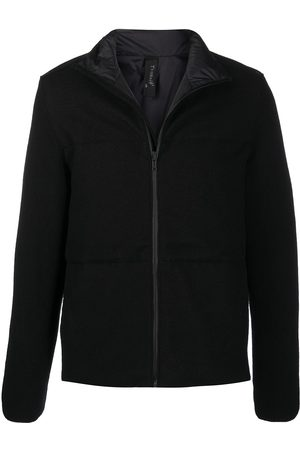 TRANSIT Zip-up funnel-neck down jacket
