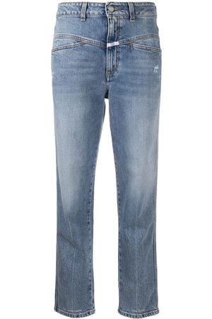 Closed Pedal Pusher stretch jeans
