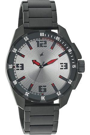 Fastrack Men Grey Dial Watch 3084NM01