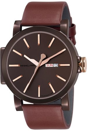 Lamex Men Brown Analogue Watch MINIMODD-M4-BR-RG