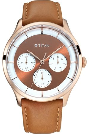 Titan Men Rose Gold Analogue Watch