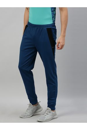 Wildcraft Men Teal Blue Straight Fit Joggers