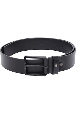 adidas Men Black Solid Leather Belt