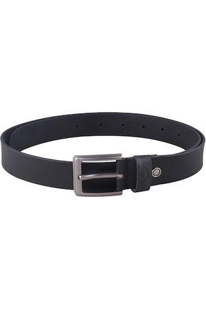 Metronaut Men Black Textured Belt
