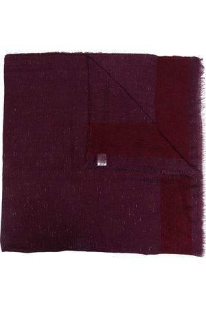 Faliero Sarti Cashmere patterned scarf