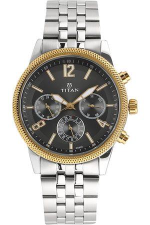 Titan Men Black Analogue Watch 1734BM01