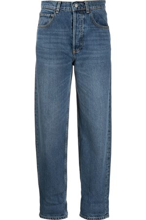 Boyish Jeans Women High Waisted - High-waisted tapered jeans