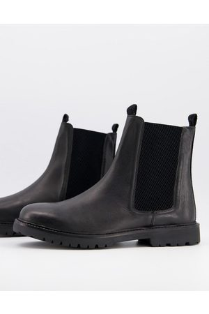 H by Hudson Chelsea boots in leather