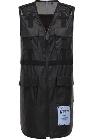 McQ Foam Nylon Utility Vest Dress