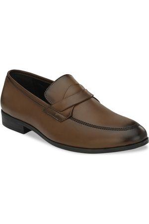 San Frissco Men Brown Formal Shoes
