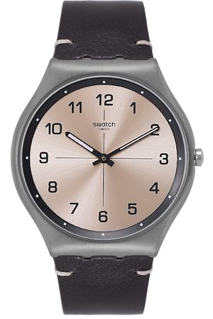 Swatch Unisex Copper-Toned Time to Trovalize Swiss Analogue Watch SS07M100