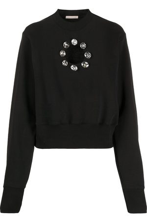 Christopher Kane Crystal cut out sweatshirt