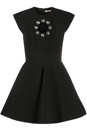 Christopher Kane Crystal bell mini dress