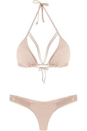 AMIR SLAMA Straps triangle bikini set