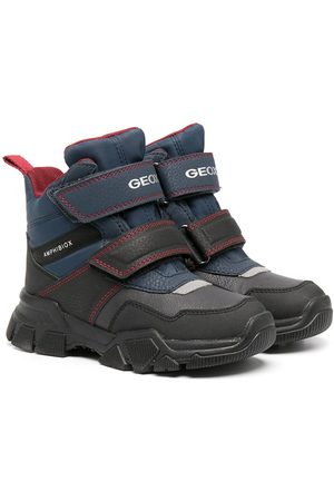 Geox Waterproof touch-strap ankle boots