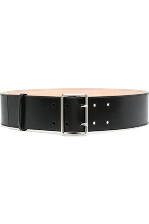 Alexander McQueen Wide military belt