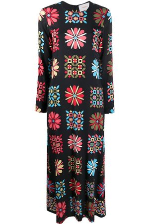 La DoubleJ Printed midi dress