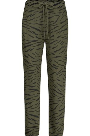 Velvet Sang printed cotton trackpants