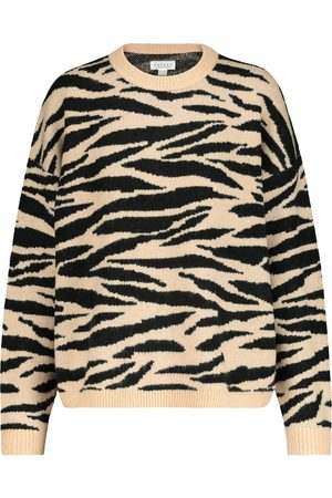 Velvet Amal striped sweater