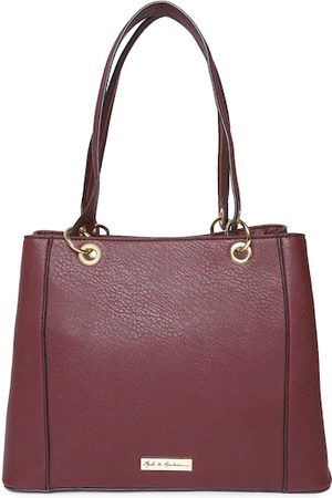 Mast & Harbour Burgundy Solid Shoulder Bag