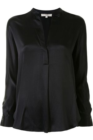 Vince Silk v-neck blouse