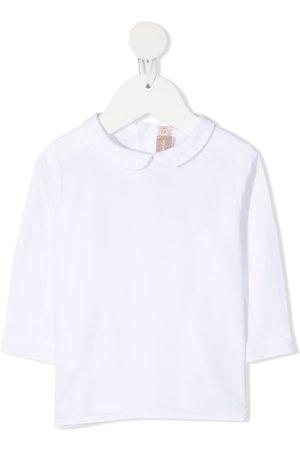 LA STUPENDERIA Long Sleeve - Plain cotton shirt