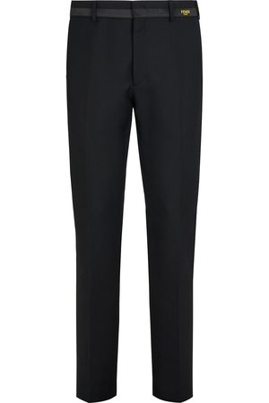 Fendi Slim fit tailored trousers