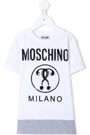 Moschino Layered logo print T-shirt