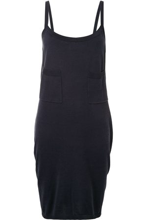 CHANEL Open back knee-length dress