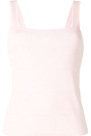 CHANEL 1998 ribbed sleeveless top