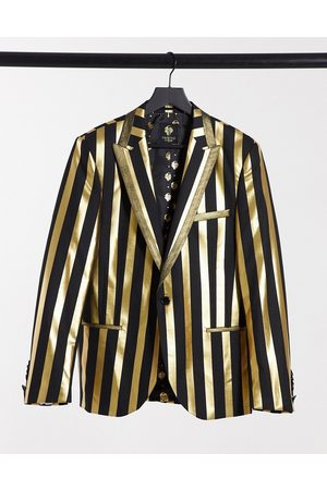 Twisted Tailor Men Blazers - Suit jacket in black and stripe