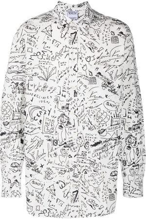 MARCELO BURLON Sketches long-sleeve shirt