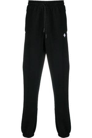 MARCELO BURLON Cross relaxed track pants
