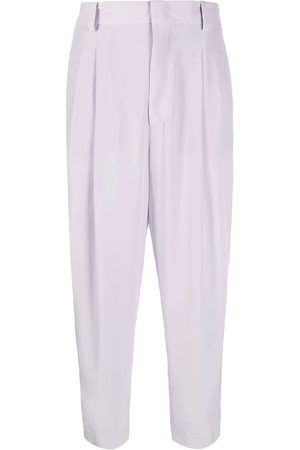 Emilio Pucci High-waisted cropped trousers