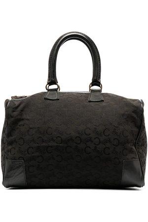 Céline Pre-owned patterned jacquard tote bag