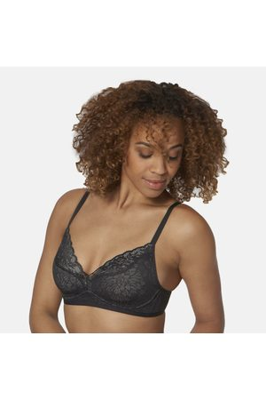 Triumph Women Padded Bras - Floral Lace Padded Multiway Bra