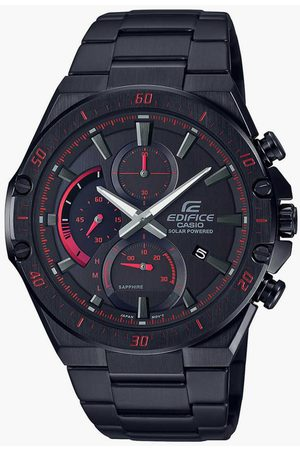 Casio Edifice Men Solar-Powered Chronograph Wristwatch - ED499