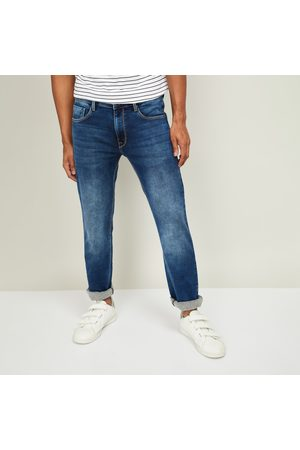 Pepe Jeans Men Tapered Vapour Dark Washed Jeans