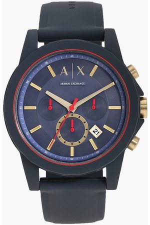 Armani Men Analog Watch with Silicone Strap - AX1335I
