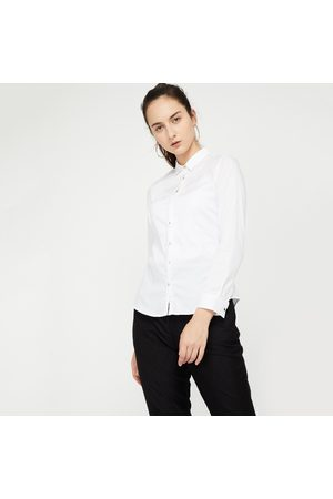 Allen Solly Solid Long-Sleeve Formal Shirt