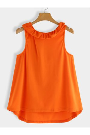 YOINS Women Vests - Bowknot Back Design Sleeveless Top