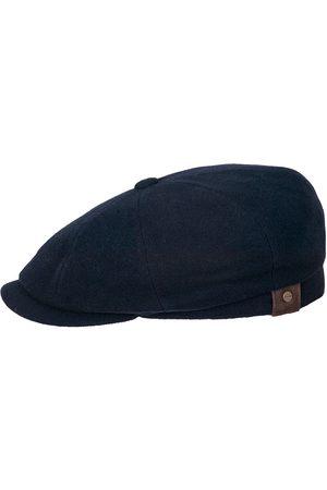 Stetson Hatteras Wool/Cashmere Flat Cap - Blue