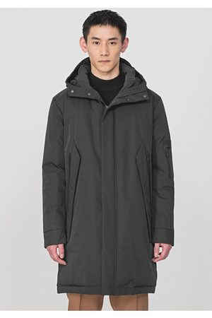 Antony Morato Long Hooded Panel Jacket Colour: