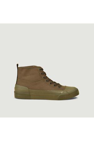 Aigle Rubber Mid Sneakers KAKI