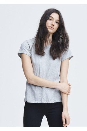 RAG&BONE Women Short Sleeve - The Slub Tee - Heather Grey